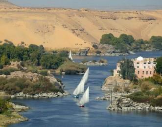 rio nilo en egipto