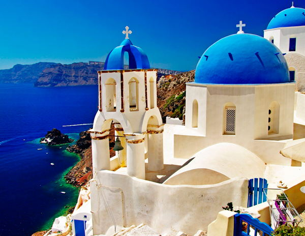 mejor epoca para ir a grecia santorini