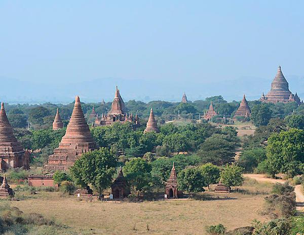 Estos son los cielos que te encontrarás si viajas en Diciembre a Birmania. Fue tomada el 30 de Diciembre de 2015.