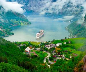cuando viajar a los fiordos noruegos