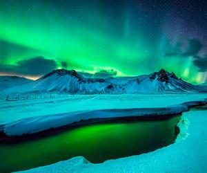 cuando ver auroras boreales en islandia