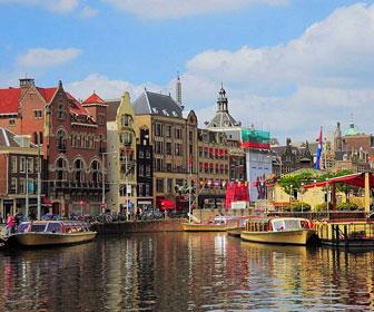 cuando se recomienda visitar amsterdam