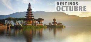 Donde viajar en octubre