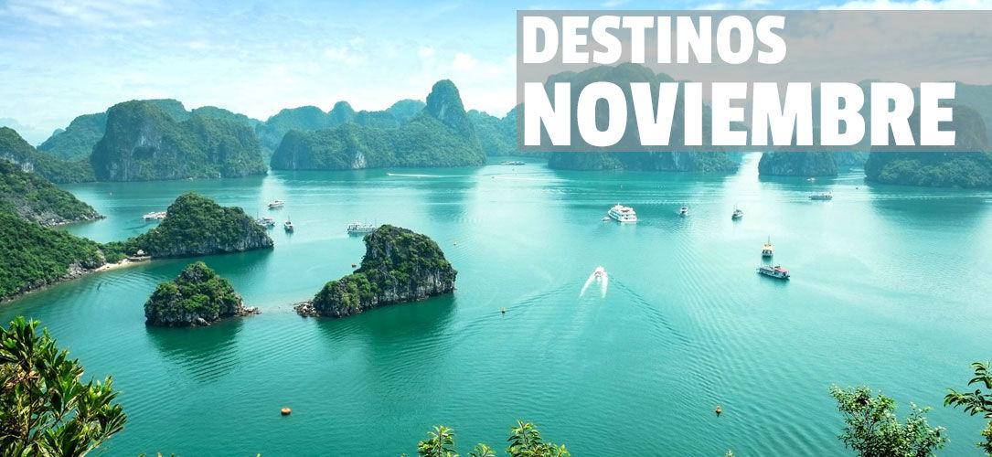 Dónde Viajar En Noviembre Top Destinos De Vacaciones En Noviembre